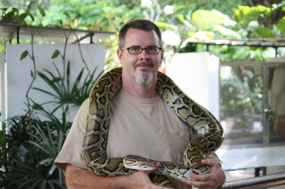 A python and me