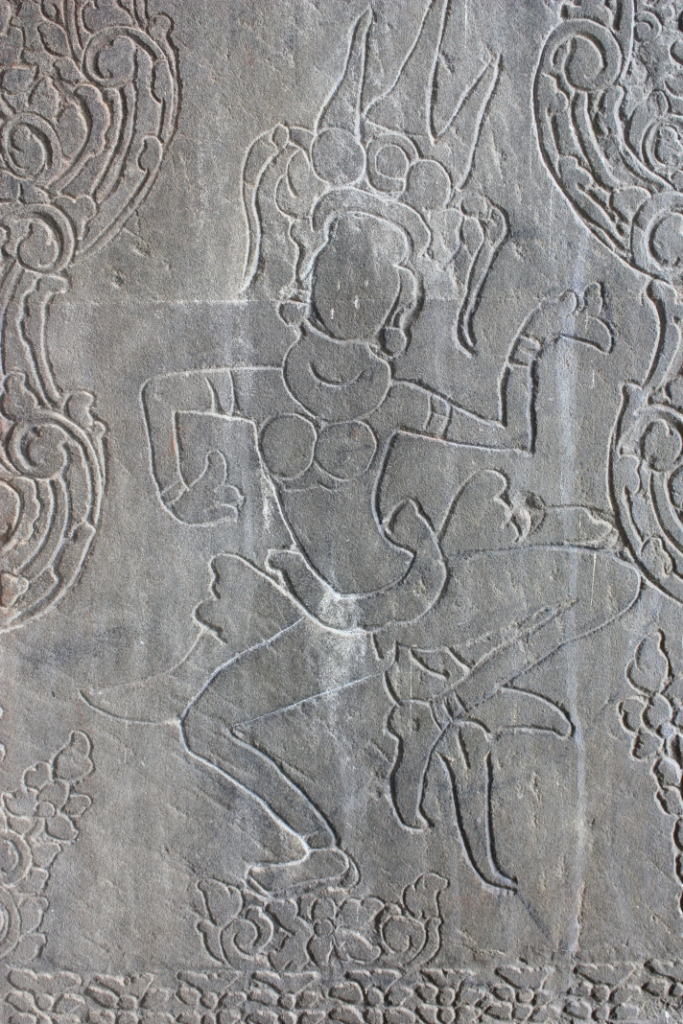 Another wall carving