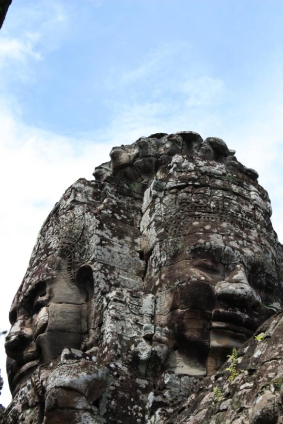 Janus-faced spire