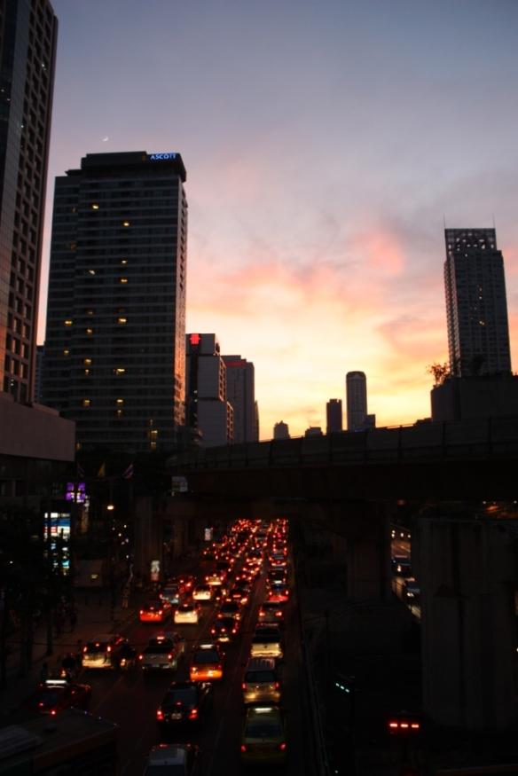 Sunsets on Bangkok