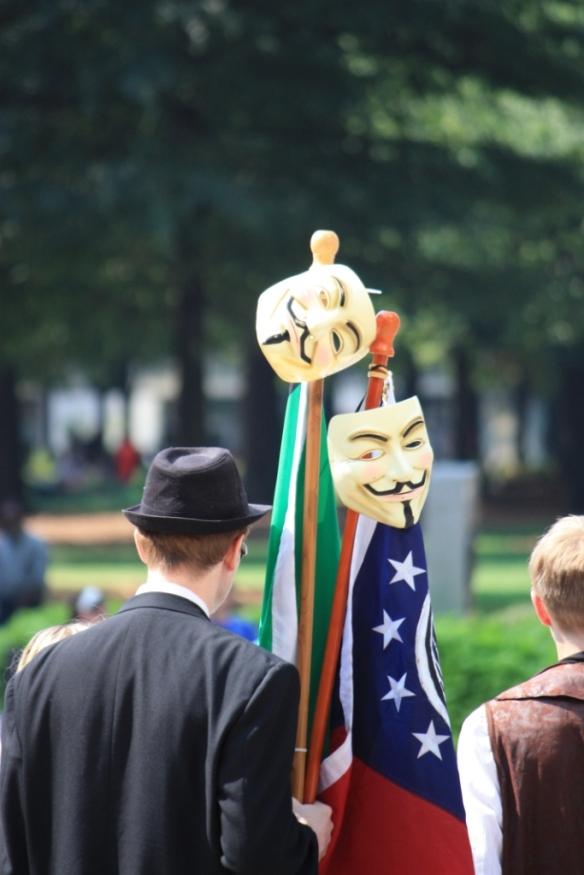 Guy Fawkes in Georgia