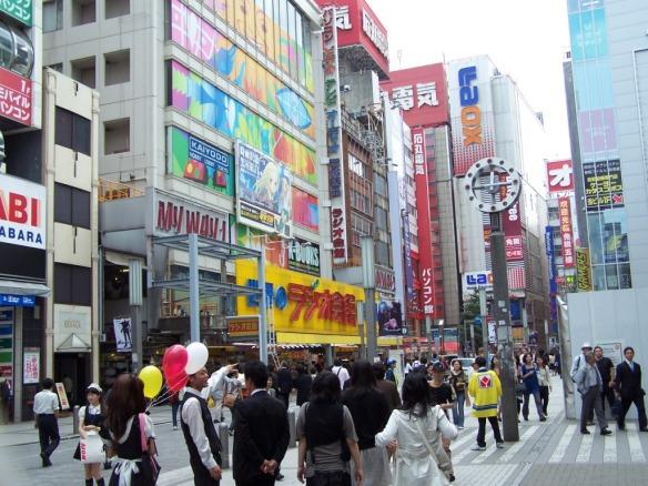 Tokyo's Electronics District