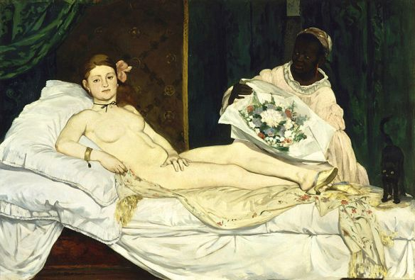 Olympia by Édouard Manet, 1863