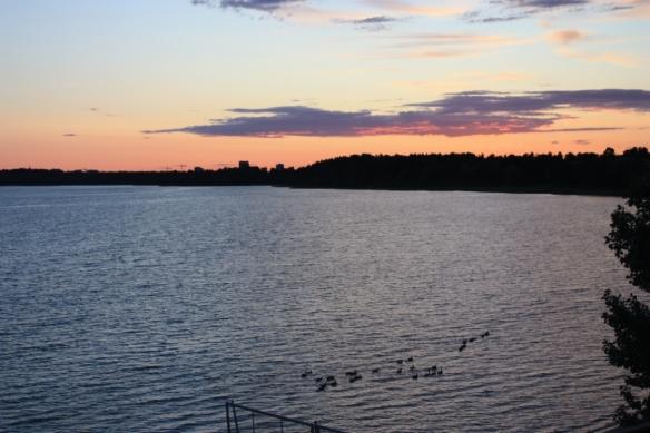 Taken from the Hilton Helsinki Kalastajatorppa