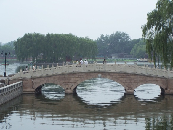 Back Lake in Beijing