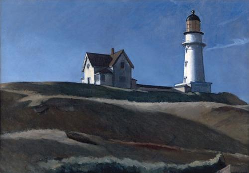Lighthouse Hill by Edward Hopper, 1927