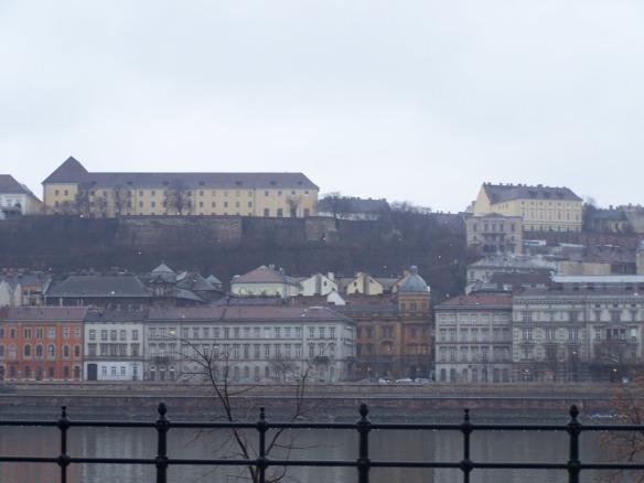 Buda from Pest; Taken in December of 2008
