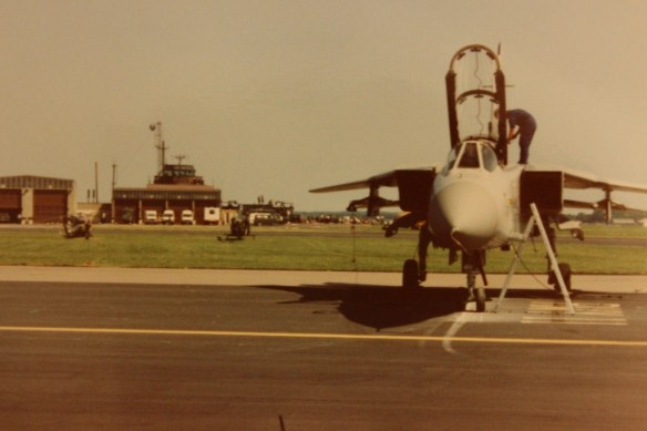 Taken in 1989 or possibly 1990 at RAF Mildenhall