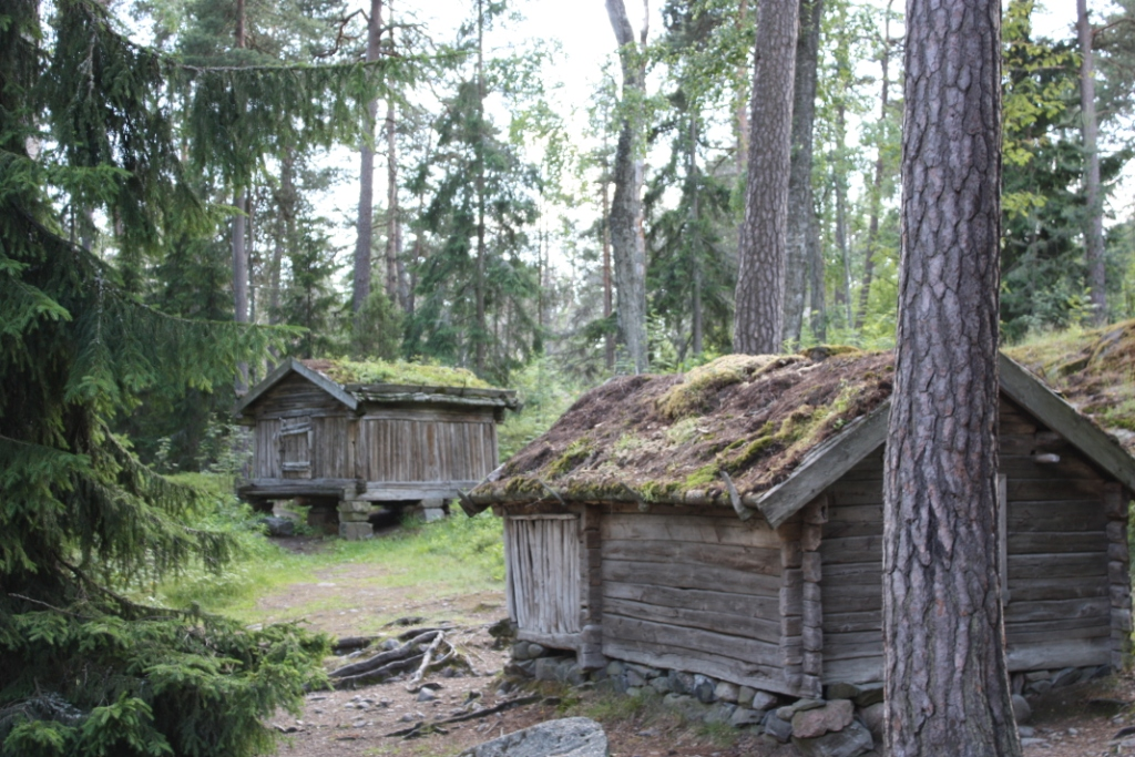 Daily Photo Cabins At Seurasaari Island The N Tro