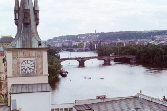 Taken in the summer of 2002 in Prague