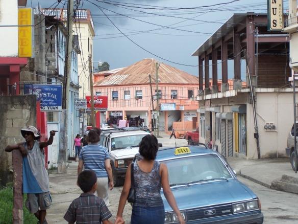 San Ignacio, Belize street scene; Taken 2007