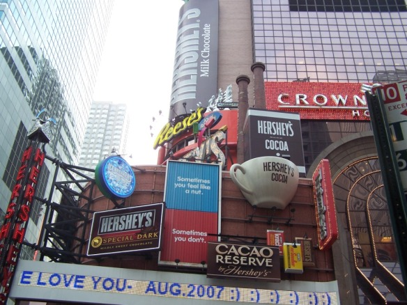 Taken in Times Square in August of 2007