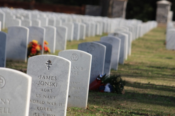 Take December of 2012 at Andersonville National Cemetary