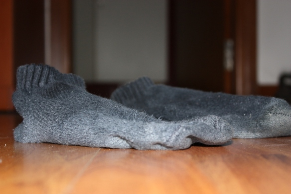 All my socks do is sit and plot their escape.