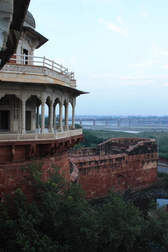 Taken on October 12, 2013 at Agra Fort.