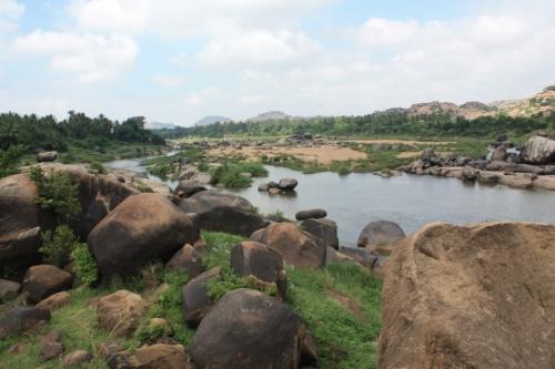 Taken on November 1, 2013 on the Tungabhadra  River
