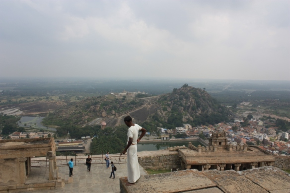 Taken November 23, 2013 from Shravanabelagola Hill