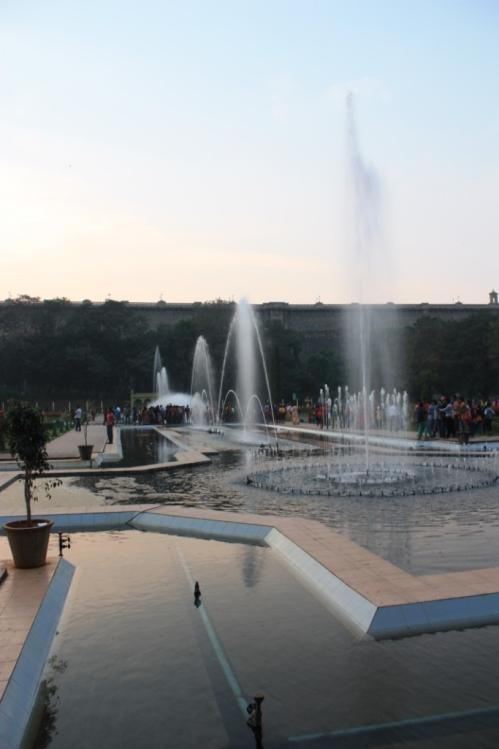 Taken November 29, 2013 at Brindavan Gardens in Mysore