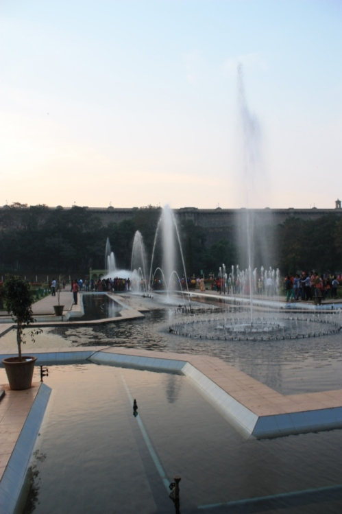 Taken November 29, 2013 at Brindavan Gardens in Mysore