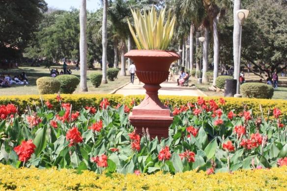 Taken on January 26, 2014 at Lal Bagh Botanical Gardens in Bangalore.