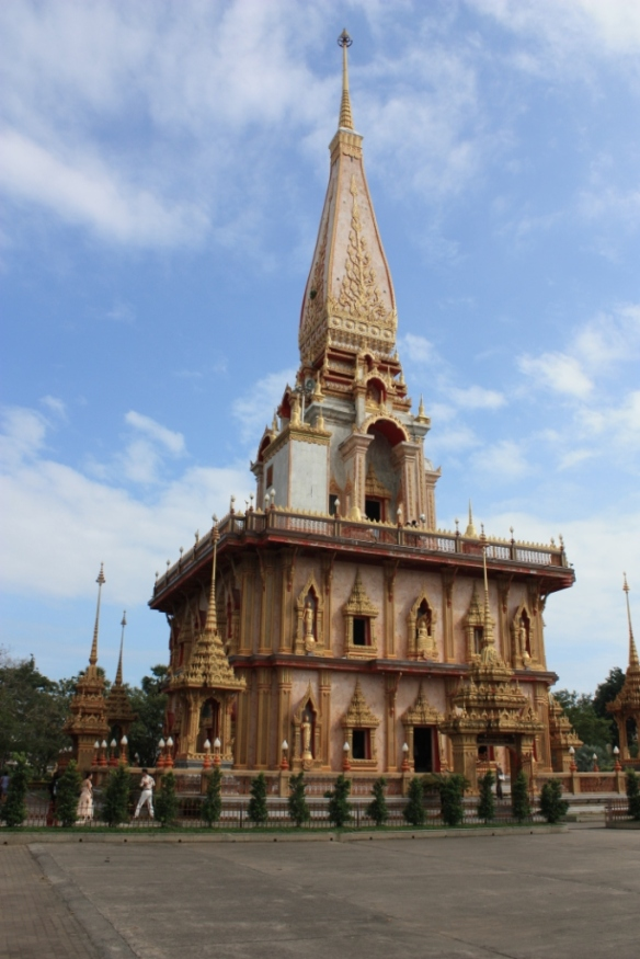Taken in January of 2014 at Wat Chalong on Phuket in Thailand.