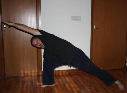 Side Angle Pose (Utthita Parsvakonasana)