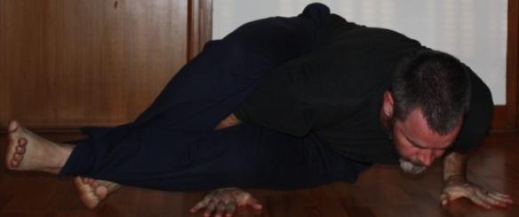 8-Twists Pose (Astavakrasana)