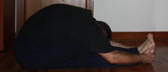 Back Stretch (Paschimottanasana)