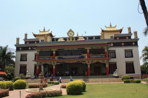 Taken March 29, 2014 at Namdroling Monastery in Bylakuppe.