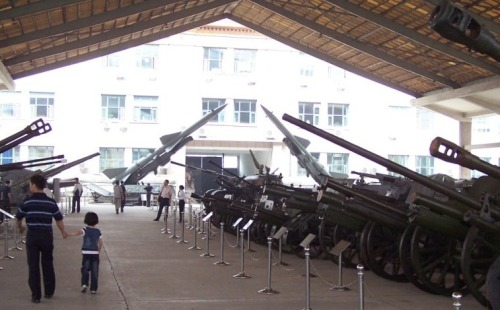 Taken in the summer of 2008 in Beijing at the Military Museum.