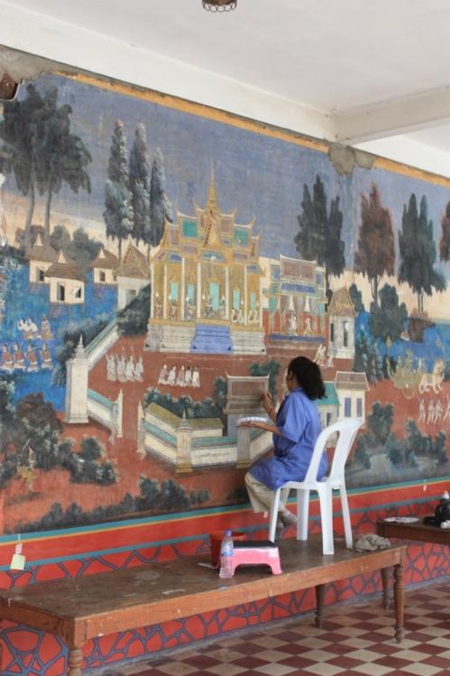 Taken on October 2012 in Phnom Penh's Royal Palace