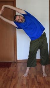 Lateral Bend (tiryaka tadasana)