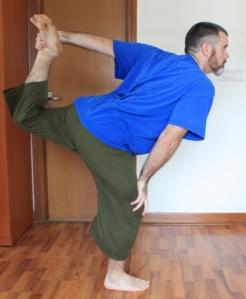 Version 1 from Thai Yoga (Palm on Knee)