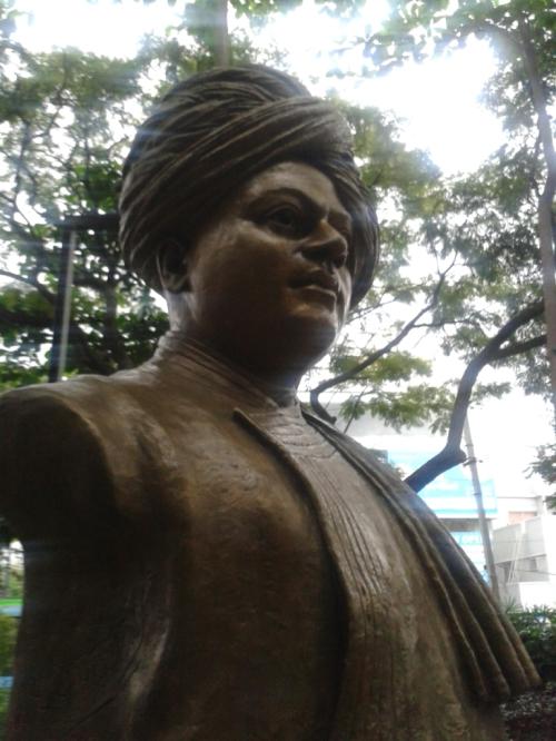 Taken on October 25, 2014 in CMH Park, Indiranagar, Bangalore.
