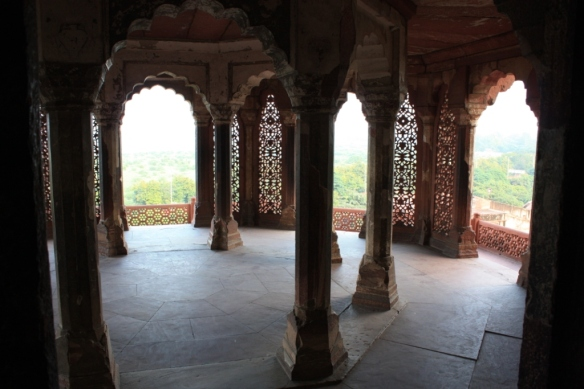 Taken in November of 2013 at Agra Fort