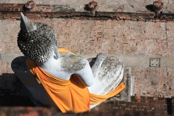 Taken in September of 2014 in Ayutthaya at Wat Yai Chaya Mongol