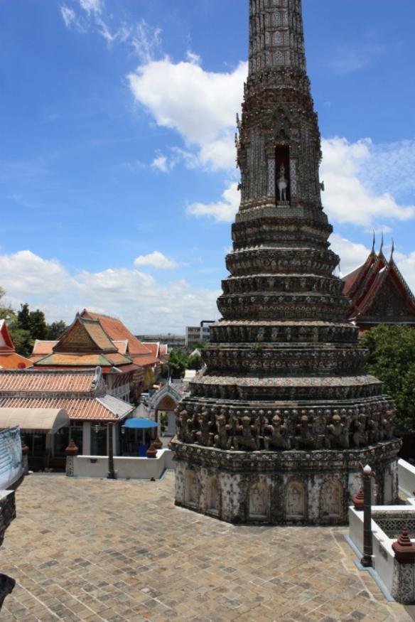 Taken in September of 2014 at Wat Arun in Bangkok.