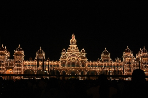 Taken on October 3, 2014 in Mysore.