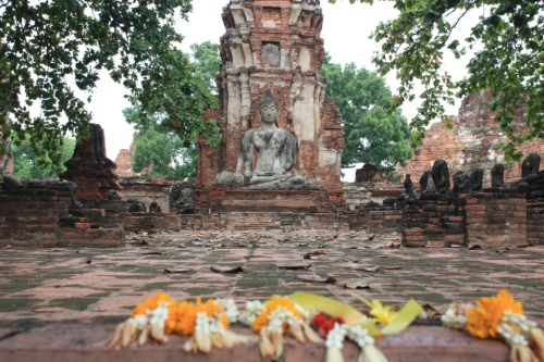 Taken in August of 2014 at Wat Mahathat in Ayutthaya