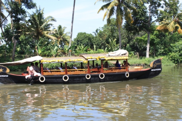 Taken in July of 2014 in the Keralan Backwaters