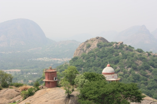 Taken on May 9, 2015 from Ram Temple Hill near Ramanagara.