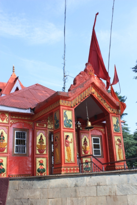 Taken on June 24, 2015 at  Jakhoo Temple in Shimla