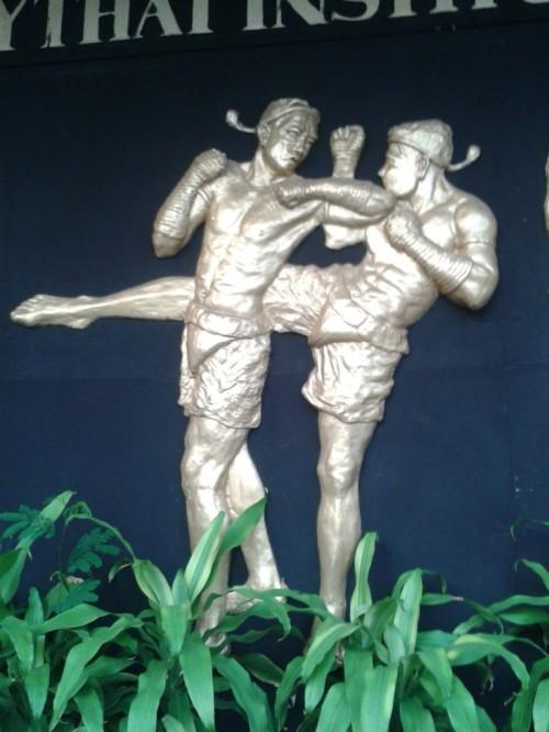 Taken at the Muay Thai Institute in Rangsit, Thailand.