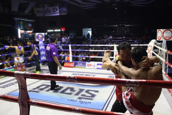 Taken September 6, 2015 at Rangsit International Boxing Stadium
