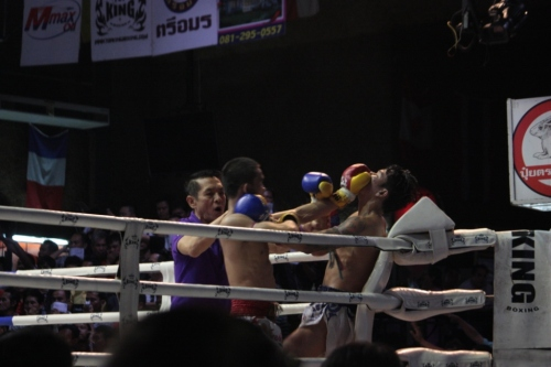 Taken on September 13, 2015 at Rangsit Boxing Stadium