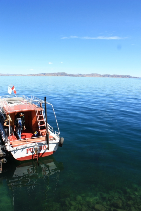 Taken in the Summer of 2010 on Lake Titicaca