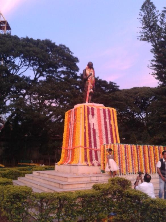 Taken on October 2, 2015 in MG Park, Bangalore