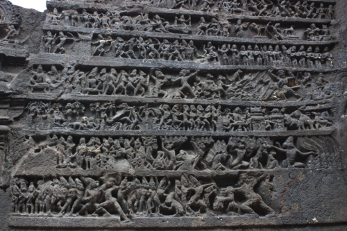 Taken in November of 2014 at Ellora Caves