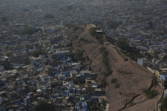 Taken on November 29, 2015 from Mehrangarh Fort