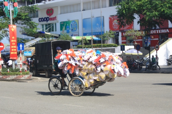 #3 Care packages; Taken December 24, 2015 in Hue